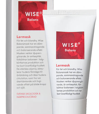 WISE Balans Natural Green Clay Mask for Deep Cleansing