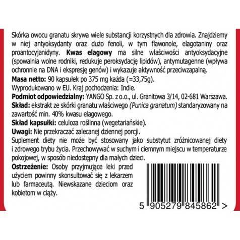 ekstrakt ze skórki GRANATU Yango Sklep Warszawa