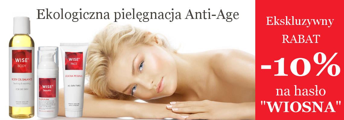 Ekologiczna pielęgnacja naturalnymi kosmetykami WISE