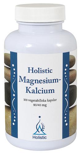 Magnez i Wapń 80mg i 40mg Holistic