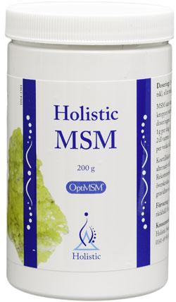 Metylosulfometan MSM OptiMsm Siarka organiczna Holistic