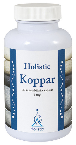 Miedź 2mg Holistic