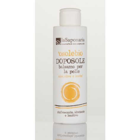 Naturalny balsam do ciała po opalaniu z aloesem O Sole BIO - La Saponaria 150ml