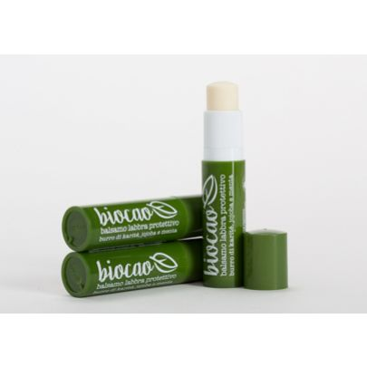 Naturalna BIO Pomadka ochronno-odżywcza do ust z nagietkiem i avocado La Saponaria 5,7ml