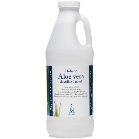 Aloe vera Holistic jest suplementem diety zawierającym wyłącznie aloes 946 ml