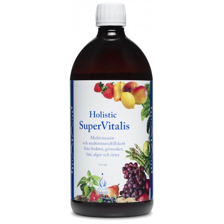 SuperVitalis Holistic multiwitaminowy suplement diety super food 900 ml