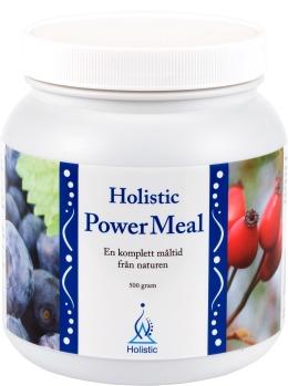 power meal pokrzywa borówka chlorella - witaminy i enzymy