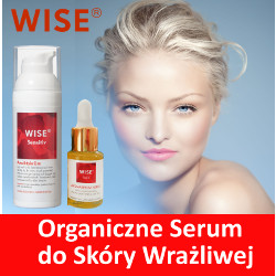 organiczne serum do skóry wrażliwej