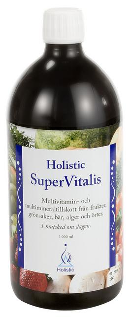 SuperVitalis naturalny koncentrat witamin i minerałów
