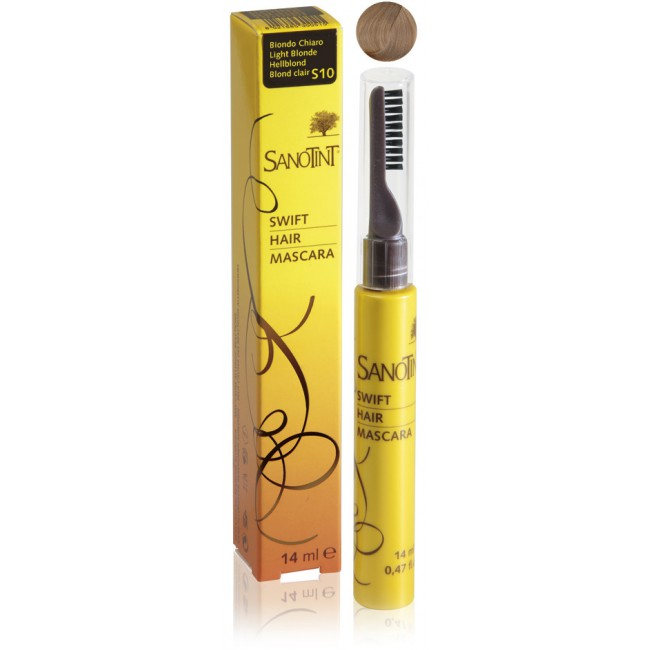Mascara na odrosty Light Blonde S10 Sanotint 14ml