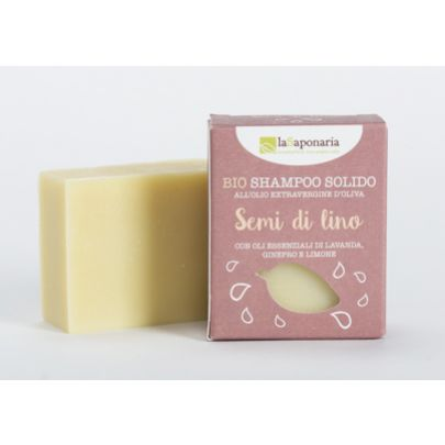 Naturalny BIO Szampon do włosów w kostce z lawendą i rozmarynem Solido La Saponaria 100gr