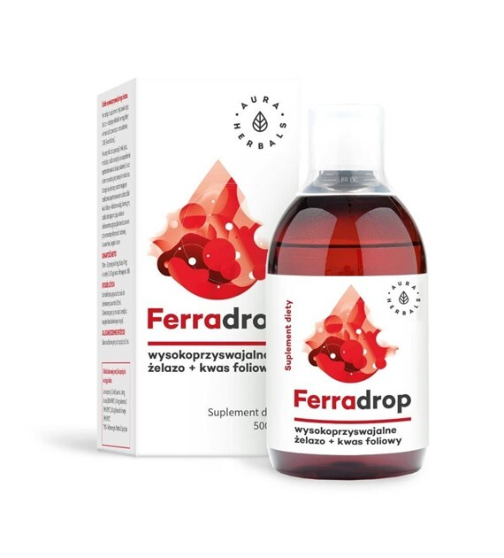Ferradrop Aura Herbals 500ml do picia